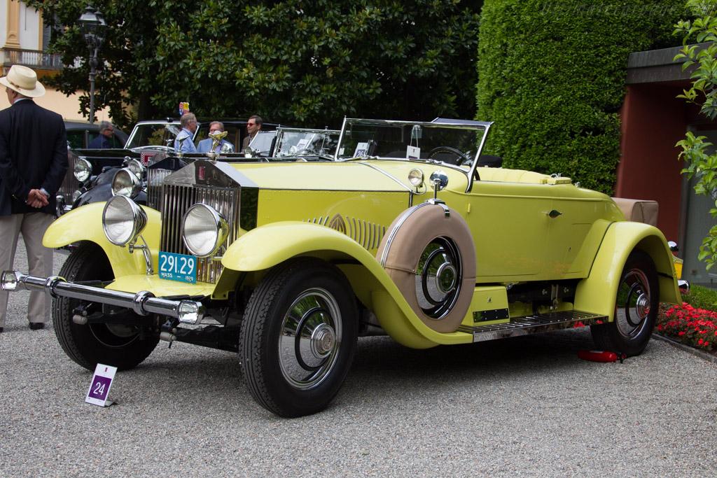 Rolls-Royce Phantom I Murphy Roadster - Chassis: S293FP - Entrant: Robert Matteucci  - 2015 Concorso d'Eleganza Villa d'Este