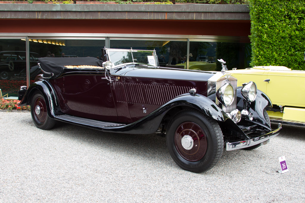 Rolls-Royce Phantom II Continental Barker Drophead Coupe - Chassis: 186MY - Entrant: Livio Cossutti  - 2015 Concorso d'Eleganza Villa d'Este