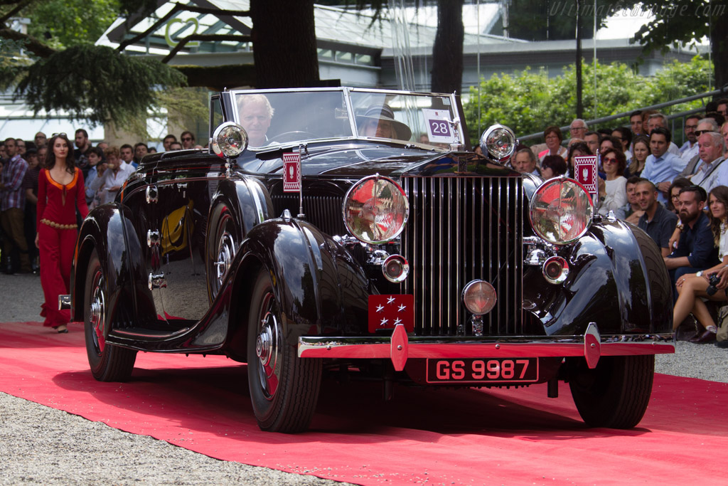 Rolls-Royce Phantom III Vanvooren Drophead Coupe - Chassis: 3CM81 - Entrant: Anthony Bamford  - 2015 Concorso d'Eleganza Villa d'Este