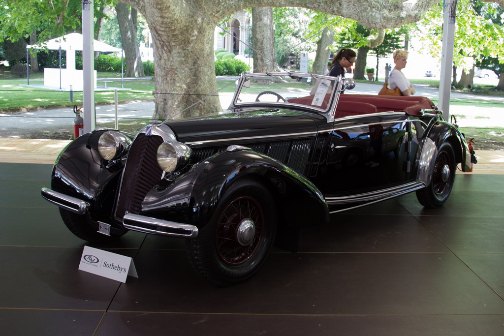 Talbot Lago T23 Cabriolet - Chassis: 93615   - 2015 Concorso d'Eleganza Villa d'Este