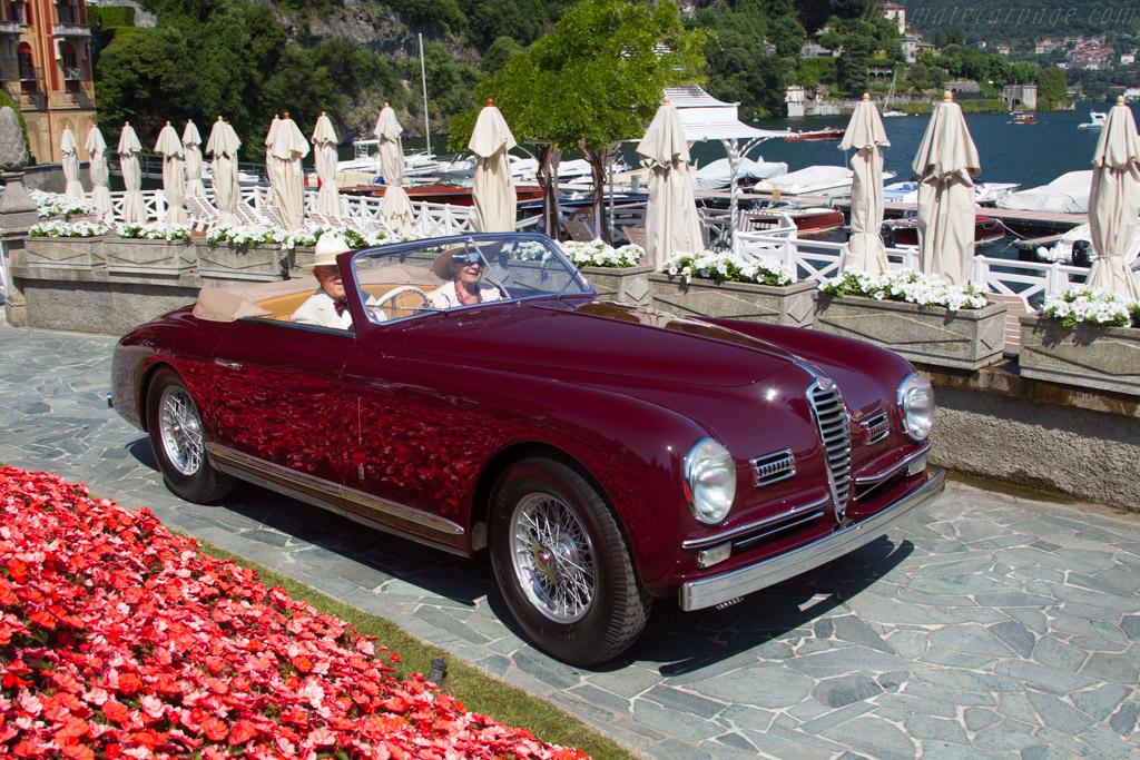 Alfa Romeo 6C 2500 SS Pinin Farina Cabriolet - Chassis: 915922 - Entrant: Rosie Marie & Herbert Wysard  - 2017 Concorso d'Eleganza Villa d'Este