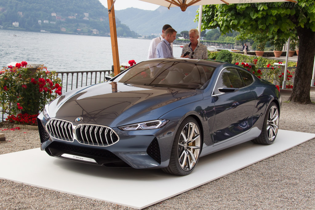 BMW Concept 8 Series Concept    - 2017 Concorso d'Eleganza Villa d'Este