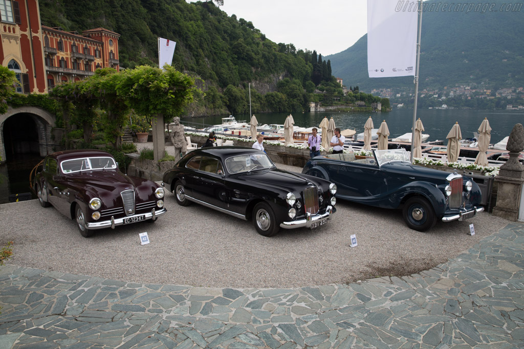 Bentley Mk VI Cresta - Chassis: B447CD - Entrant: Fred Kriz  - 2017 Concorso d'Eleganza Villa d'Este