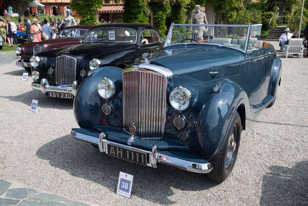 Bentley Mk VI Mulliner DHC - Chassis: B42AK - Entrant: Norbert Seeger  - 2017 Concorso d'Eleganza Villa d'Este