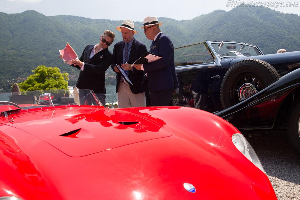 Maserati 300S - Chassis: 3083 - Entrant: Andreas Mohringer  - 2017 Concorso d'Eleganza Villa d'Este