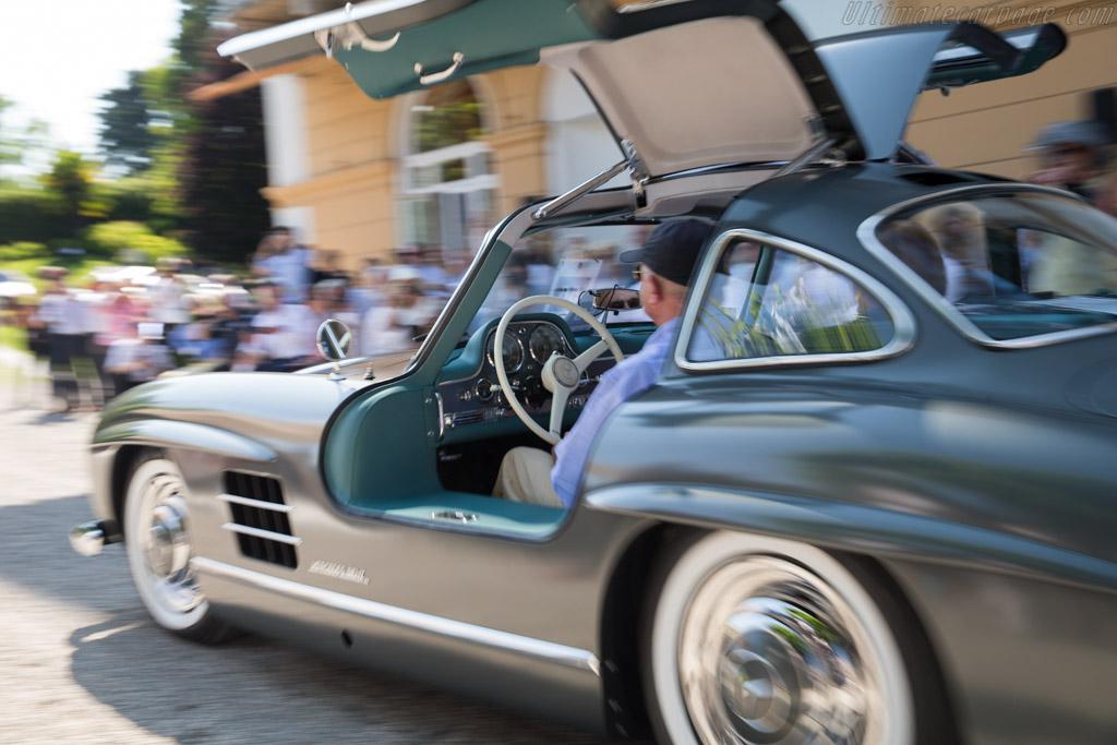 Mercedes-Benz 300 SL Coupe - Chassis: 198.040.5500343 - Entrant: Andries Meuzelaar  - 2017 Concorso d'Eleganza Villa d'Este