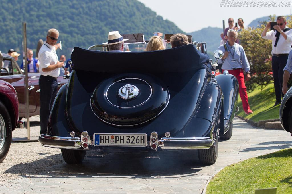 Mercedes-Benz 540 K Cabriolet A - Chassis: 154076 - Entrant: Peter Hertel  - 2017 Concorso d'Eleganza Villa d'Este