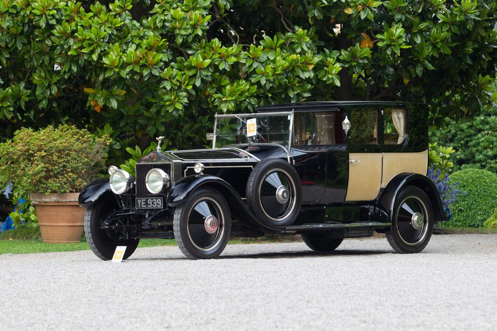 Rolls-Royce Phantom I Brougham de Ville - Chassis: 76TC - Entrant: Chris Meany  - 2017 Concorso d'Eleganza Villa d'Este