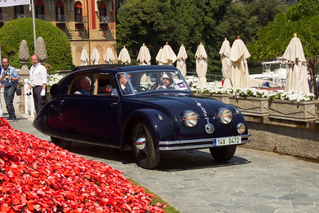 Tatra T77 - Chassis: 23012 - Entrant: Tomas Hoferek  - 2017 Concorso d'Eleganza Villa d'Este