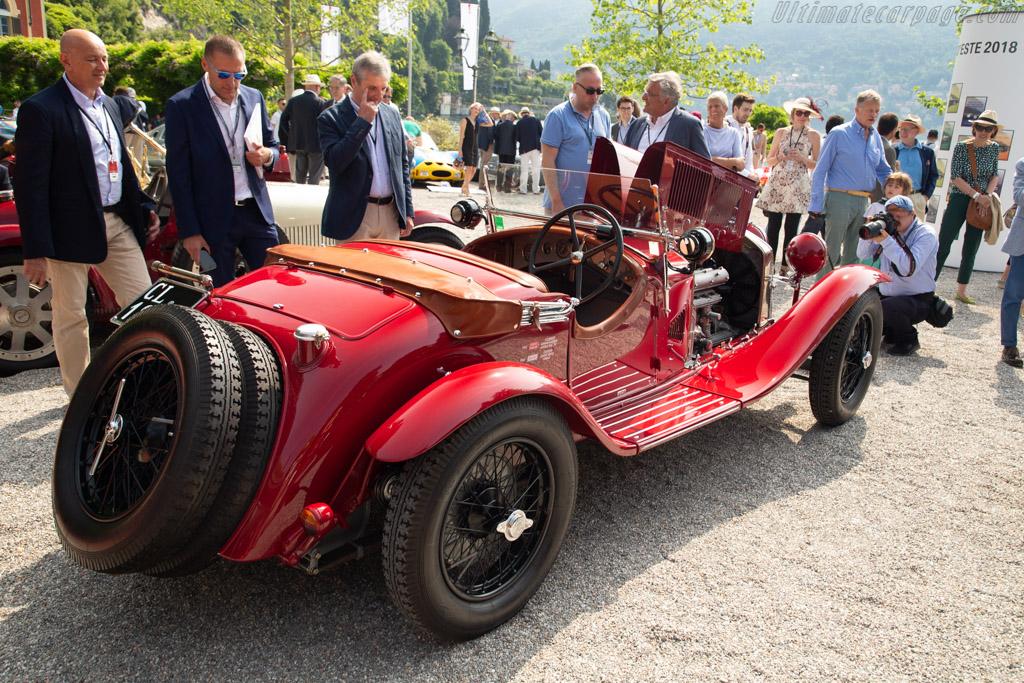 Alfa Romeo 6C 1750 GS Zagato Spider - Chassis: 8513066 - Entrant: Luca Bergamschi  - 2018 Concorso d'Eleganza Villa d'Este