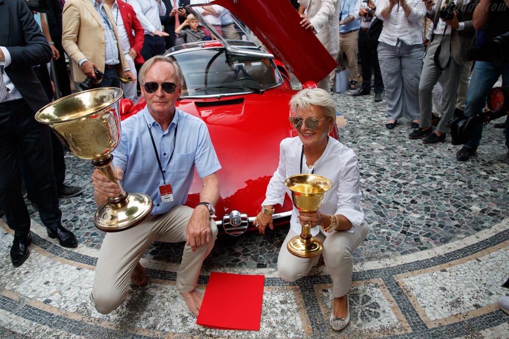 Alfa Romeo Tipo 33 Stradale - Chassis: 75033.110 - Entrant: Albert Spiess  - 2018 Concorso d'Eleganza Villa d'Este