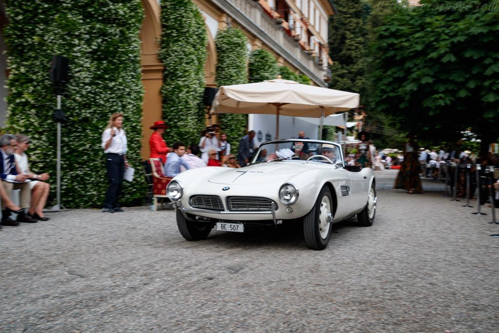 BMW 507 Roadster - Chassis: 70192 - Entrant: Christian Traber  - 2018 Concorso d'Eleganza Villa d'Este