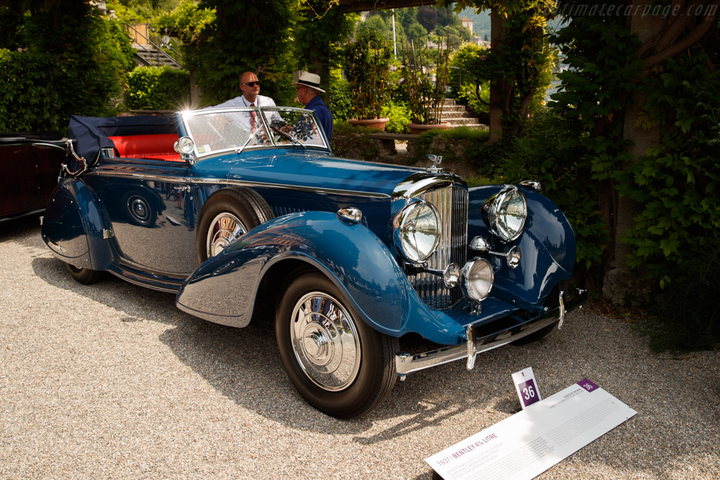 Bentley 4¼-Litre Erdmann & Rossi Cabriolet - Chassis: B-58-LS - Entrant: Saulius Karosas - 2018 Concorso d'Eleganza Villa d'Este