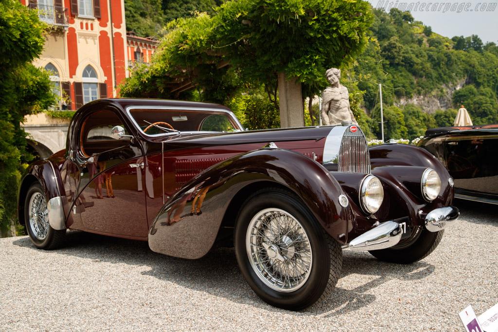 Bugatti Type 57 Atalante - Chassis: 57598 - Entrant: Albert Wetz  - 2018 Concorso d'Eleganza Villa d'Este