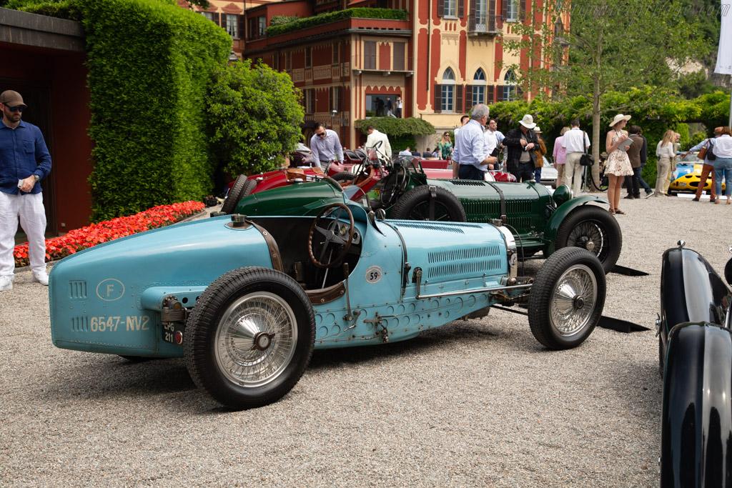 Bugatti Type 59 - Chassis: 59124 - Entrant: Marc Newson  - 2018 Concorso d'Eleganza Villa d'Este