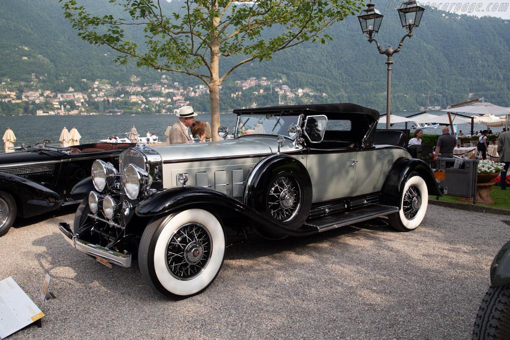 Cadillac V16 Fleetwood Roadster - Chassis: 702092 - Entrant: Frederick Lax  - 2018 Concorso d'Eleganza Villa d'Este