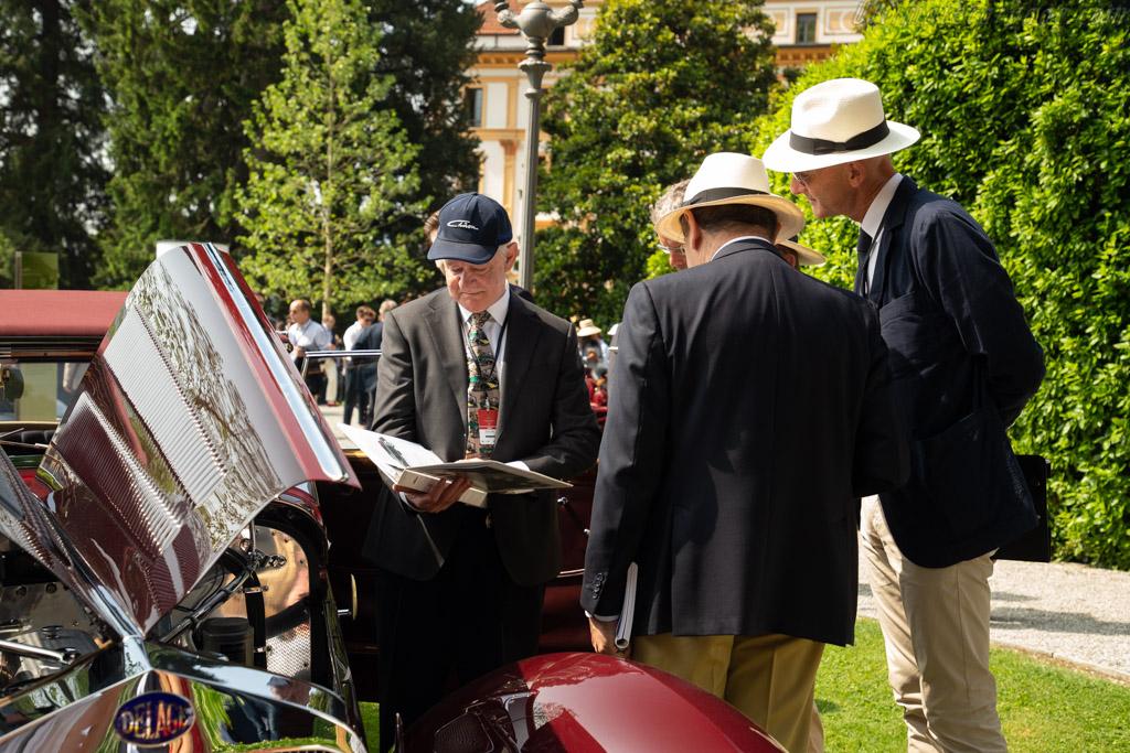 Delage D8-120 Chapron Cabriolet - Chassis: 51760 - Entrant: Peter Mullin  - 2018 Concorso d'Eleganza Villa d'Este