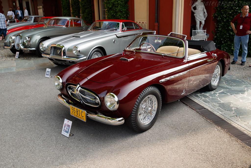 Ferrari 212 Export Vignale Cabriolet - Chassis: 0110E - Entrant: Peter Kalikow  - 2018 Concorso d'Eleganza Villa d'Este