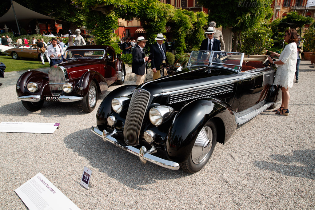 Lancia Astura Serie III Pinin Farina Cabriolet - Chassis: 33-3287 - Entrant: Anthony MacLean  - 2018 Concorso d'Eleganza Villa d'Este