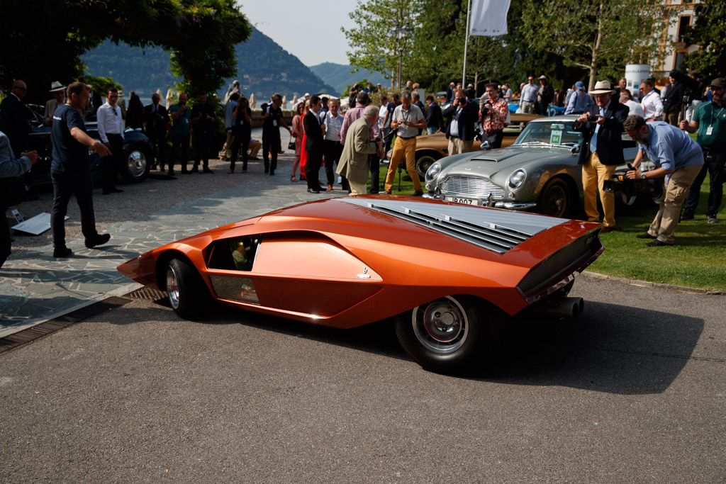 Lancia Stratos Zero - Chassis: C*1160* - Entrant: Phillip Sarofim - 2018 Concorso d'Eleganza Villa d'Este
