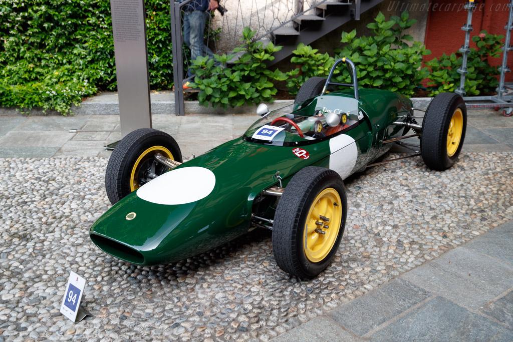 Lotus 21 Climax - Chassis: 937 - Entrant: Federico Buratti  - 2018 Concorso d'Eleganza Villa d'Este