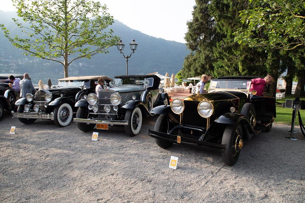 Rolls-Royce Phantom I Brewster Brougham de Ville - Chassis: S390LR - Entrant: Frédéric Leroux  - 2018 Concorso d'Eleganza Villa d'Este