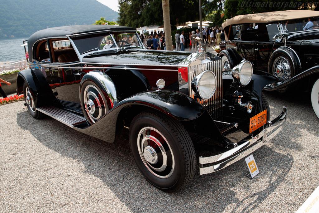 Rolls-Royce Phantom II Brewster Sport Saloon - Chassis: 289AJS - Entrant: Collection Lehrman  - 2018 Concorso d'Eleganza Villa d'Este