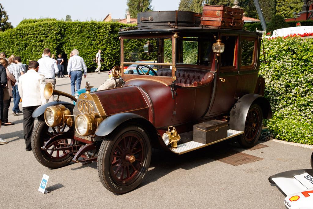 SCAT 25/35hp Landaulet - Chassis: 1550 - Entrant: Corrado Lopresto  - 2018 Concorso d'Eleganza Villa d'Este