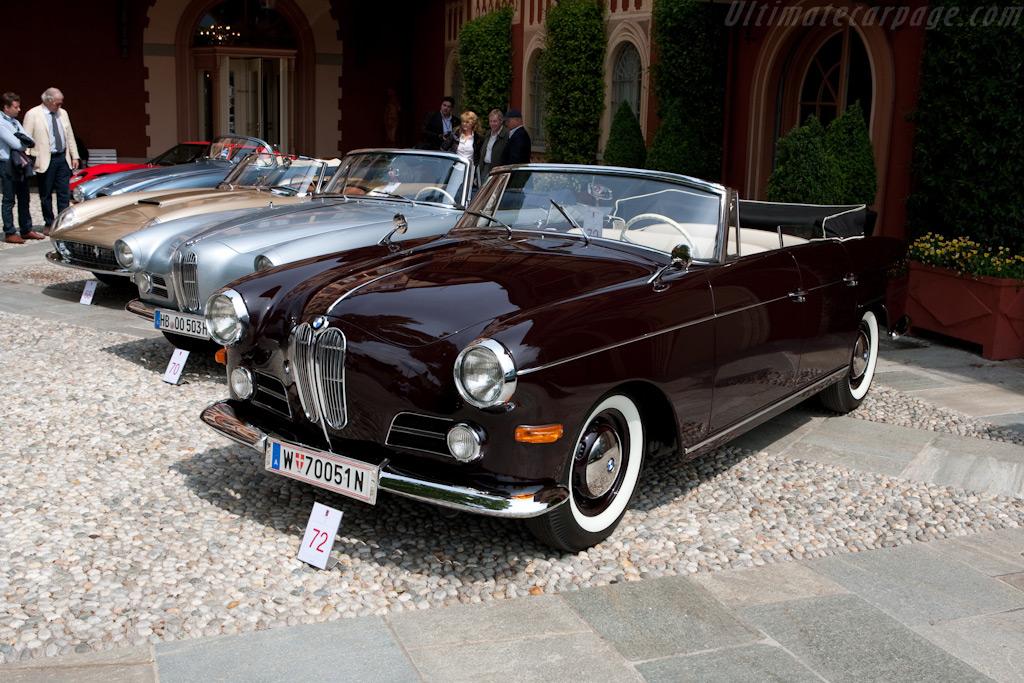 BMW 3200 Super Autenrieth Cabriolet - Chassis: 72085   - 2009 Concorso d'Eleganza Villa d'Este