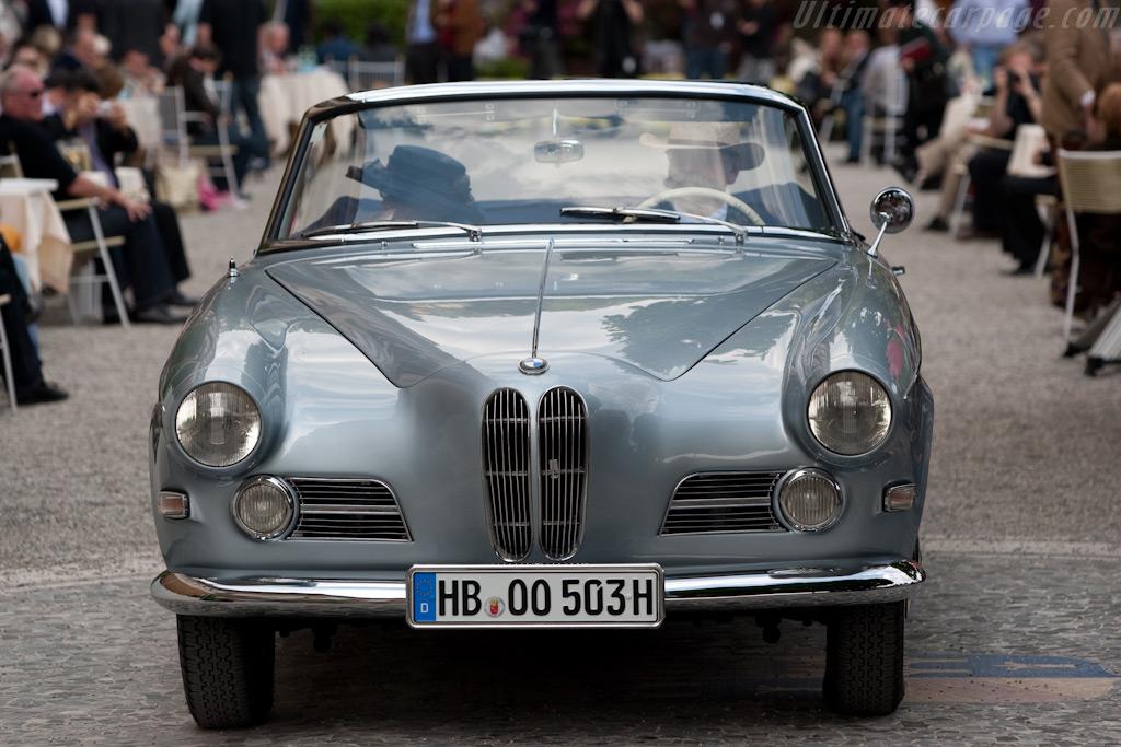 BMW 503 Cabriolet - Chassis: 69058   - 2009 Concorso d'Eleganza Villa d'Este