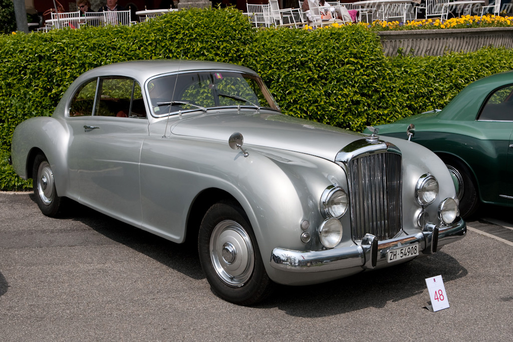Bentley R Type Continental Mulliner Coupe 2009 Concorso