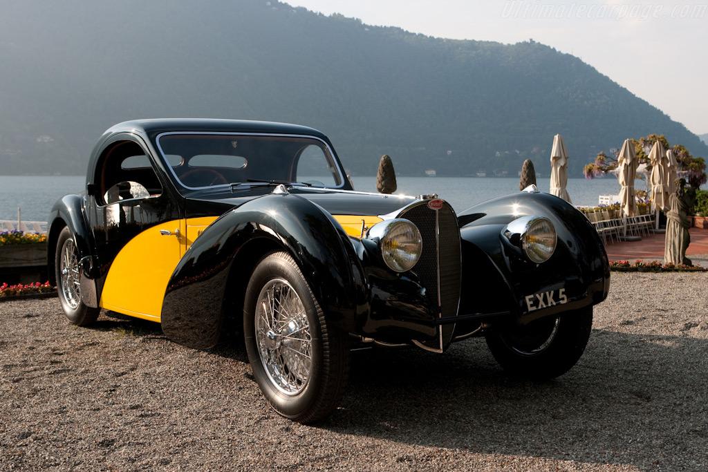 Bugatti Type 57S Atalante Coupe - Chassis: 57592   - 2009 Concorso d'Eleganza Villa d'Este
