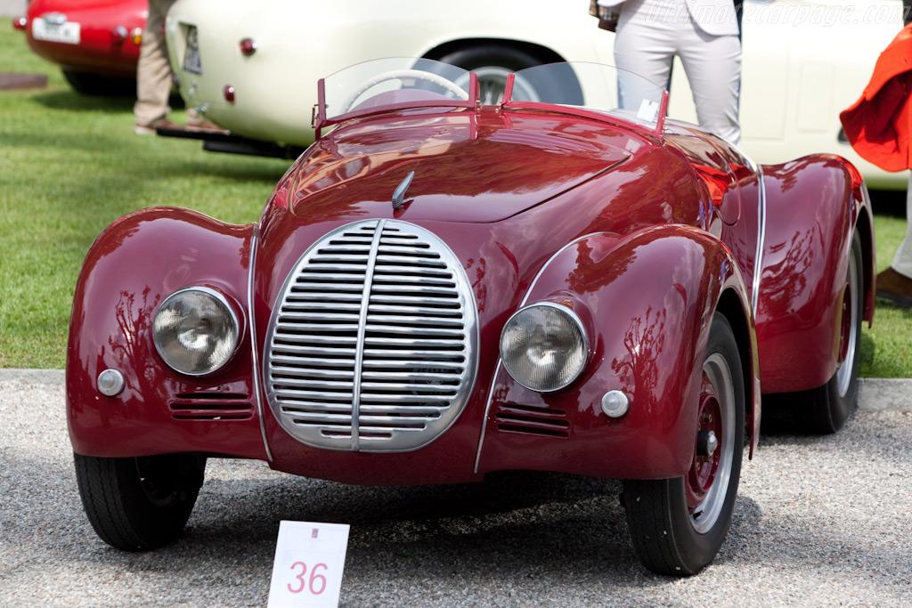 Lancia Aprilia Viotti Spider    - 2009 Concorso d'Eleganza Villa d'Este