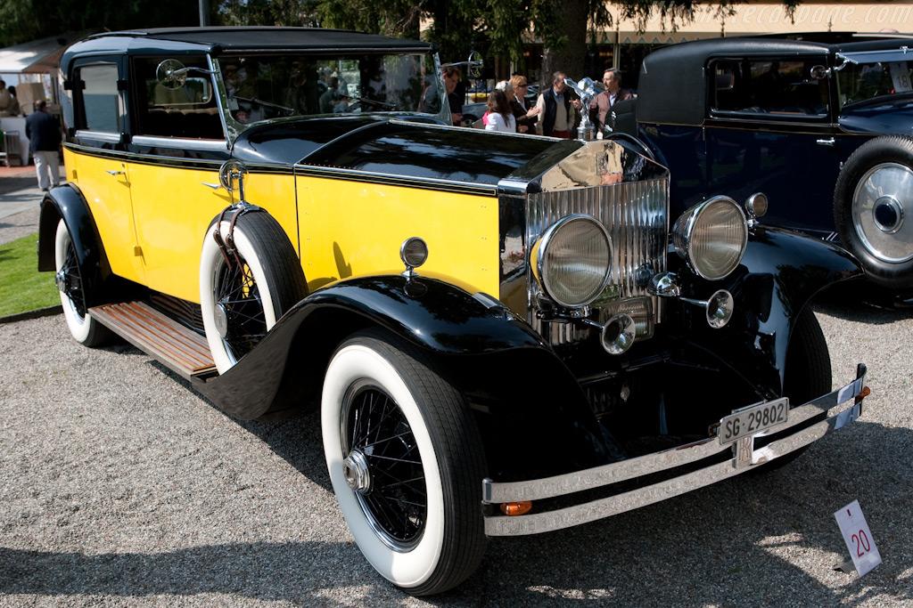 Rolls-Royce Phantom I Brewster Sedanca    - 2009 Concorso d'Eleganza Villa d'Este