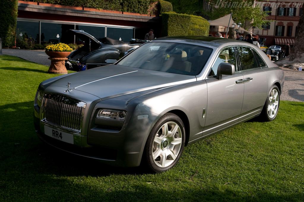 The new Rolls-Royce Ghost    - 2009 Concorso d'Eleganza Villa d'Este