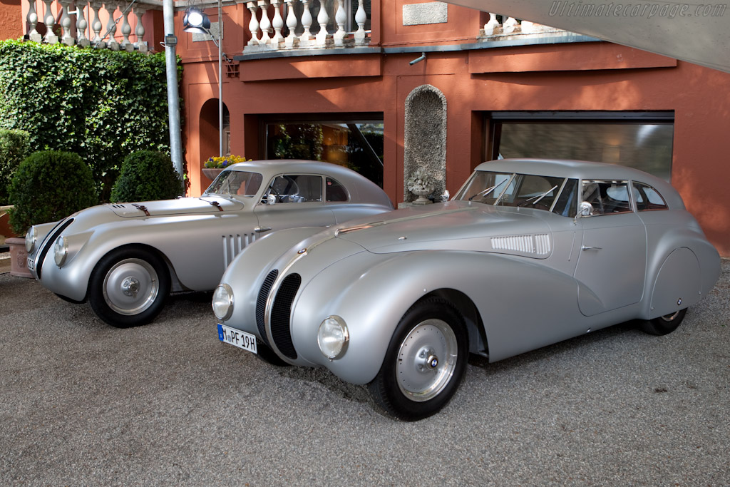 BMW 328 Kamm and Touring Coupes    - 2010 Concorso d'Eleganza Villa d'Este
