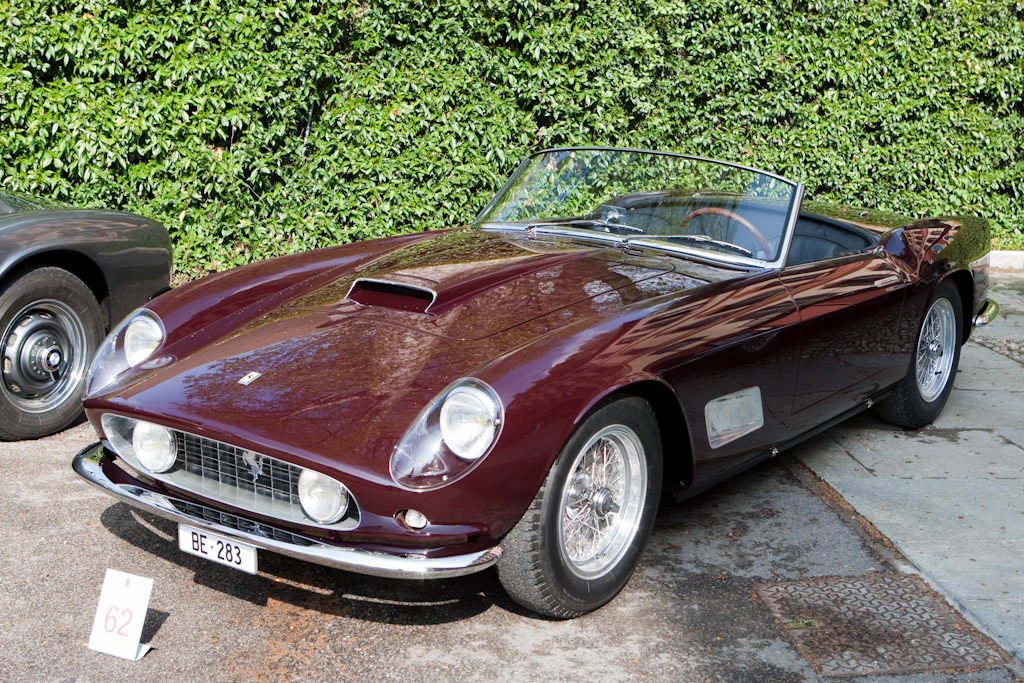 ferrari 250 gt california spider chassis 0965gt 2010 concorso d. Cars Review. Best American Auto & Cars Review