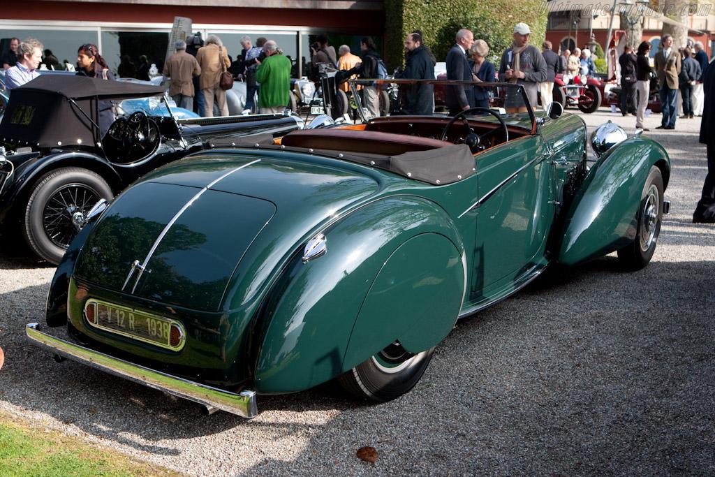 Lagonda V12 Rapide Drophead Coupe - Chassis: 14068 - Entrant: Michael Kaufmann  - 2010 Concorso d'Eleganza Villa d'Este