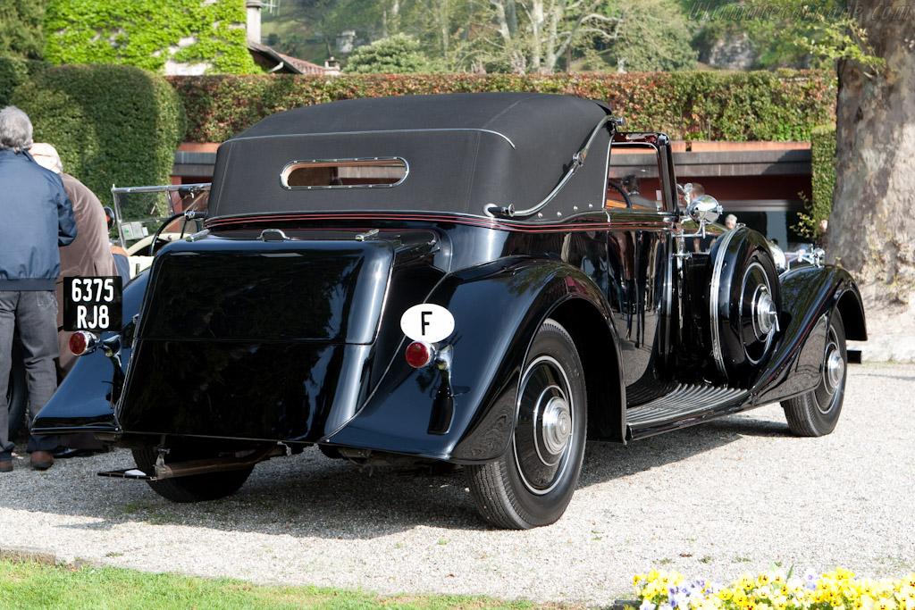 Rolls-Royce Phantom II Continental Binder DHC    - 2010 Concorso d'Eleganza Villa d'Este