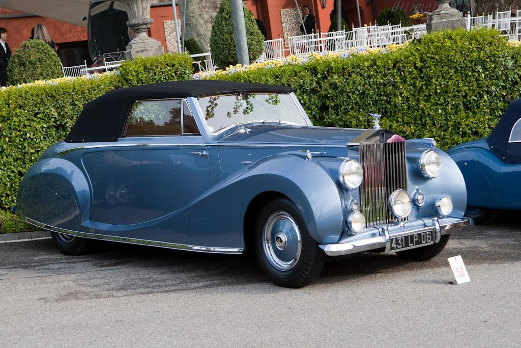 Rolls-Royce Silver Wraith Franay Cabriolet - Chassis: LWAB63   - 2010 Concorso d'Eleganza Villa d'Este