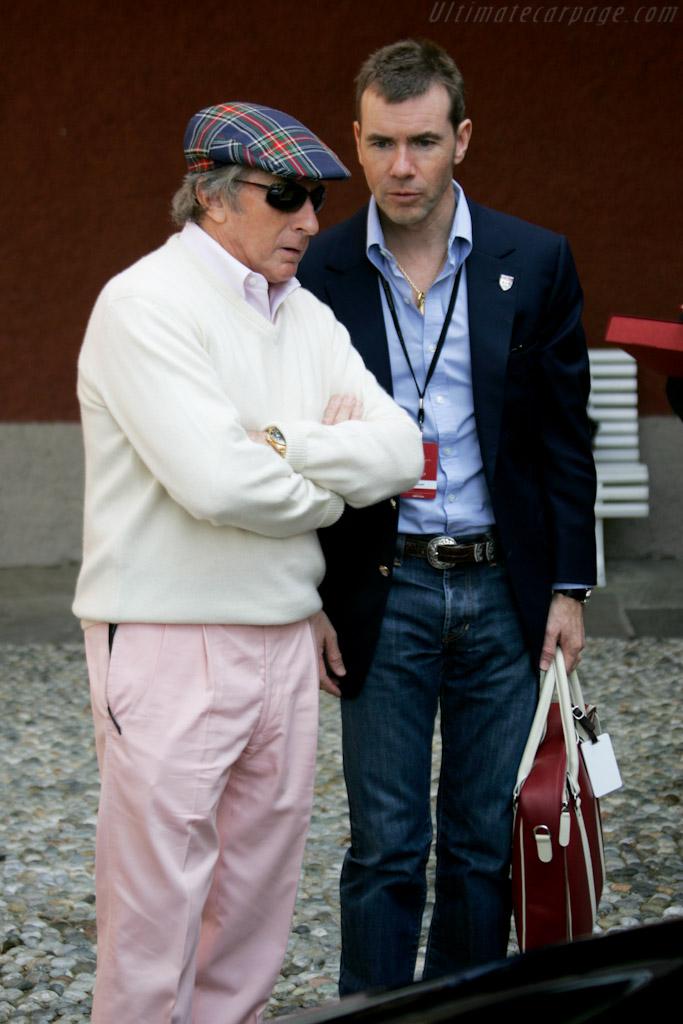 Sir Jackie and Paul Stewart    - 2010 Concorso d'Eleganza Villa d'Este