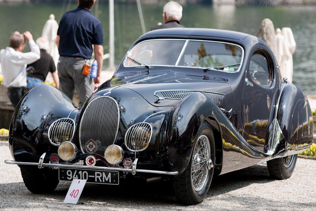 Talbot Lago T150 CSS Teardrop Coupe - Chassis: 90117   - 2010 Concorso d'Eleganza Villa d'Este