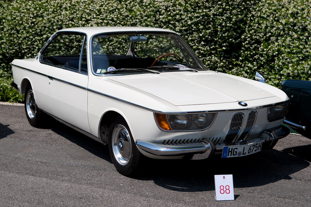BMW 2000 CS - Chassis: 1102366   - 2011 Concorso d'Eleganza Villa d'Este
