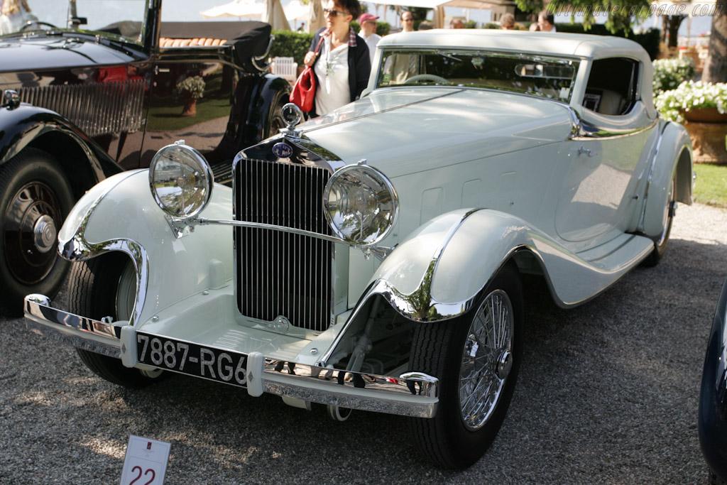 Delage D8 S de Villars Roadster - Chassis: 38012   - 2011 Concorso d'Eleganza Villa d'Este