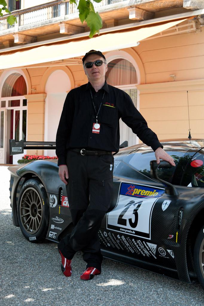 Jim Glickenhaus    - 2011 Concorso d'Eleganza Villa d'Este