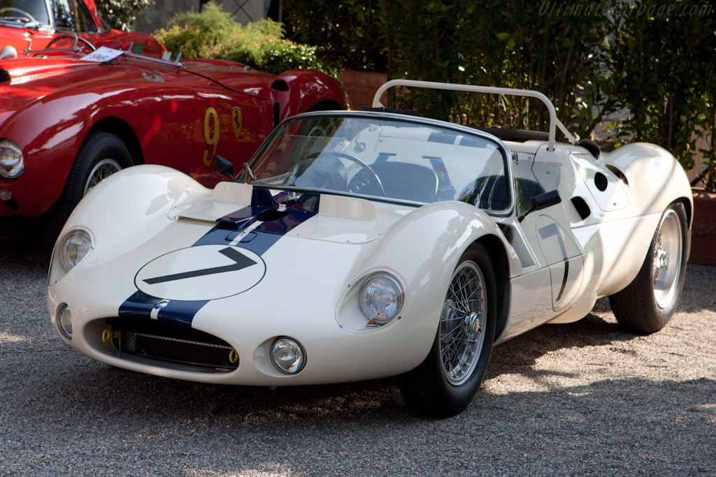Maserati Tipo 63 V12 'Birdcage' - Chassis: 63.002   - 2011 Concorso d'Eleganza Villa d'Este
