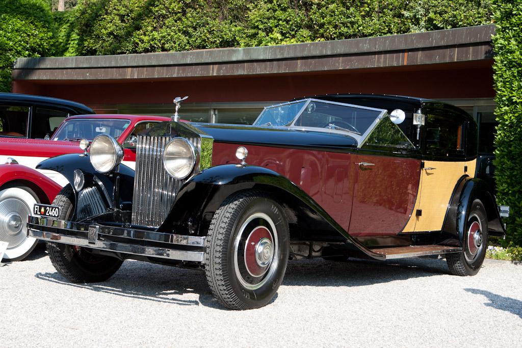 Rolls-Royce Phantom II Brewster Special Town Car - Chassis: 218AMS  - 2011 Concorso d'Eleganza Villa d'Este