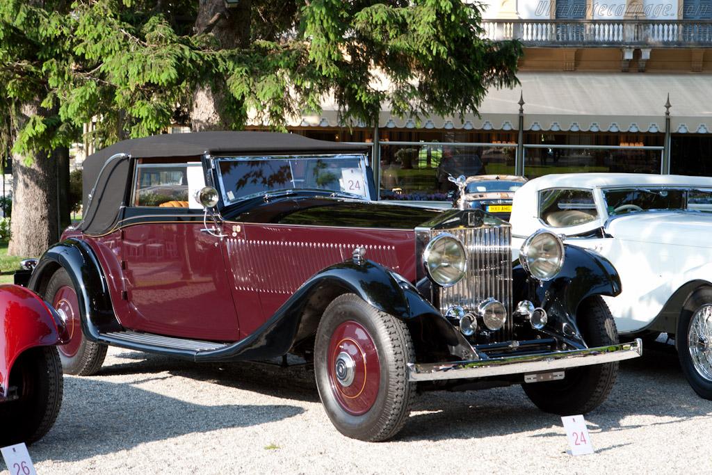 Rolls-Royce Phantom II Continental Barker DHC - Chassis: 186MY  - 2011 Concorso d'Eleganza Villa d'Este