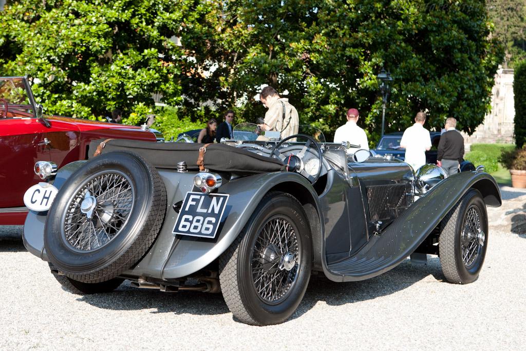 SS 100 Jaguar - Chassis: 39097   - 2011 Concorso d'Eleganza Villa d'Este