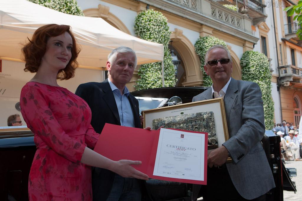 Winner FIVA Trophy for best preserved Pre-War   - 2011 Concorso d'Eleganza Villa d'Este